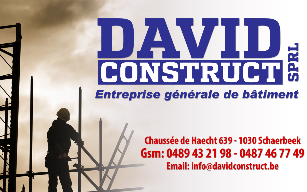 Entreprise Generale De Batiment 77 davidconstruct sprl - 1030 schaerbeek   entreprise générale